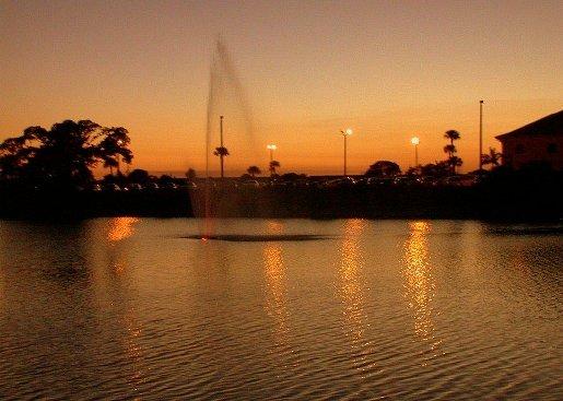 Fontaine du lac
